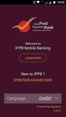how to register ippb mobile banking
